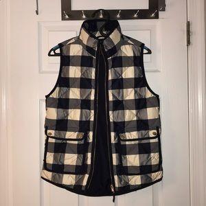 J. Crew Jackets & Coats - Dark navy and white Jcrew vest